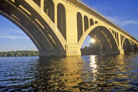 rosslyn: The Potomac and Francis Scott Key Bridge, Rosslyn, Washington, DC