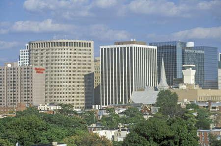 Wilmington skyline, Wilmington, Delaware