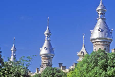 Ornate Moorish architecture of the Tampa Bay Hotel, Tampa, Florida Sajtókép