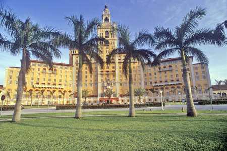 hotel: The Biltmore Hotel at Coral Gables, Miami, Florida Editorial
