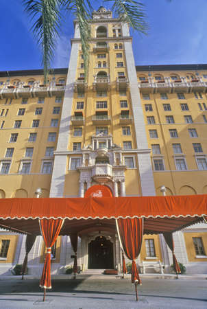 The Biltmore Hotel at Coral Gables, Miami, Florida Editorial