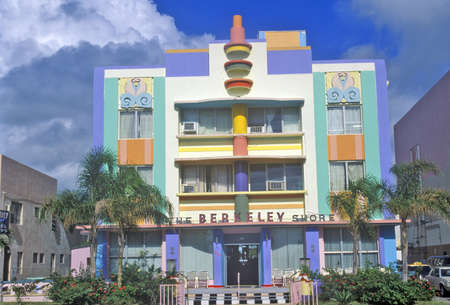artdeco: The Berkeley Shore located in the Art-Deco District of Miami Beach, Miami, Florida