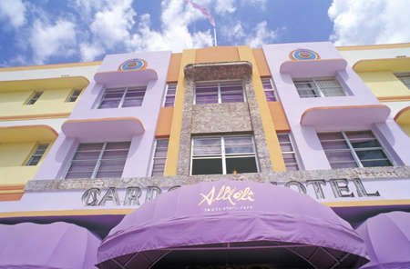 artdeco: Art-Deco District of south beach Miami, Miami, Florida