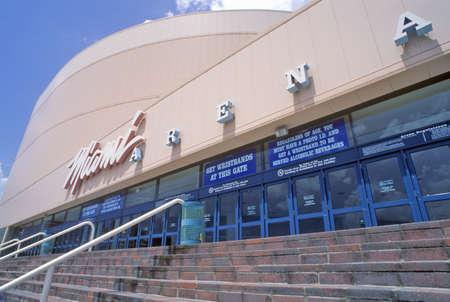 Centro de Convenciones de Miami, Miami, Florida Foto de archivo - 20476122
