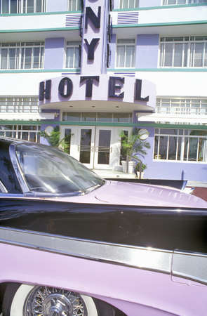 artdeco: The Colony Hotel in south beach, Miami Beach, Florida
