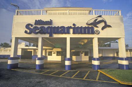 key biscayne: Miami Seaquarium in Key Biscayne, Miami, Florida