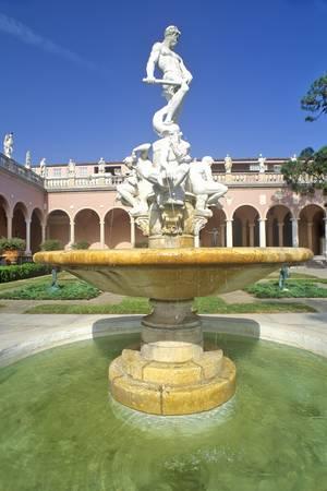 John and Mabel Ringling Museum of Art, Sarasota, Florida Editorial