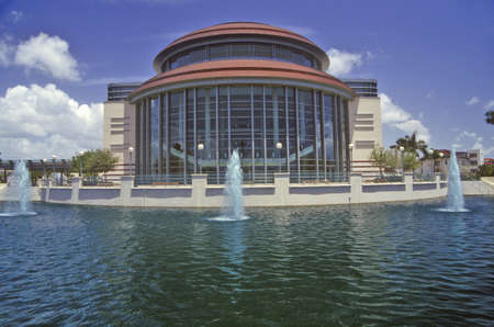 Kravis Center for the Performing Arts in West Palm Beach, Florida Editorial