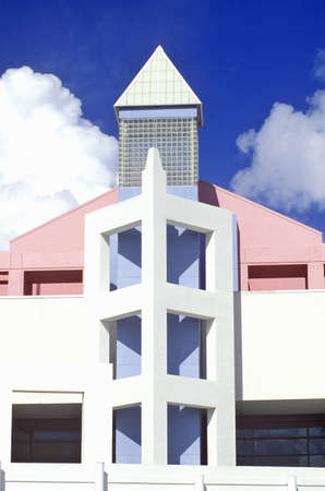 artdeco: Miami Beach Convention Center located in the Art-Deco District of Miami Beach, Miami, Florida