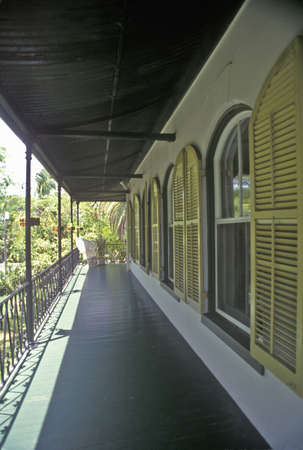 ernest hemingway: The Ernest Hemingway Home and Museum, Key West, Florida