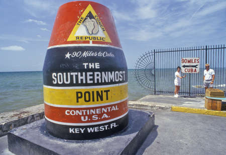 Southernmost point of the continental United States, Key West, Florida