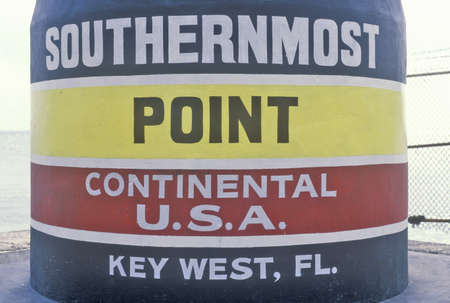 continental united states: Southernmost point of the continental United States, Key West, Florida Editorial