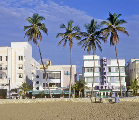 artdeco: �SOBE� south beach, Miami Beach, Florida