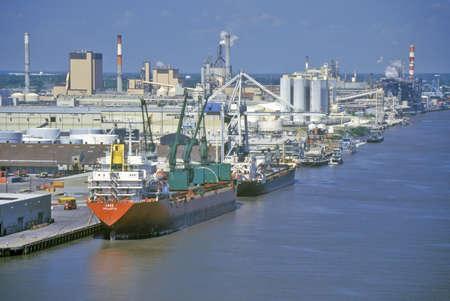 Shipping in the Port of Savannah, Savannah, Georgia