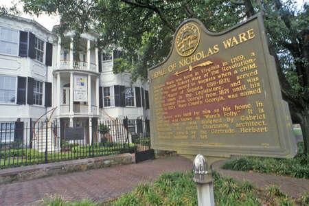 augusta: Nicholas Ware Mansion, Augusta, Georgia