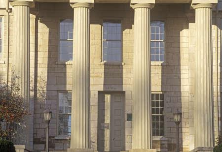 iowa: Old State Capitol of Iowa, Iowa City, Iowa