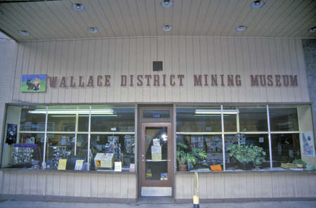wallace: Wallace District Mining Museum, Wallace, Idaho