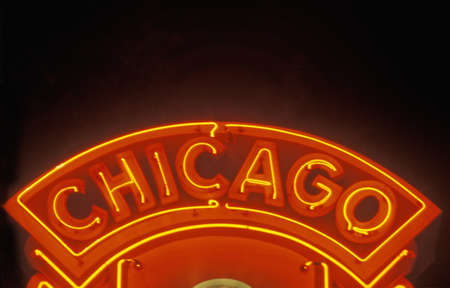 Chicago Neon Sign, Chicago, Illinois