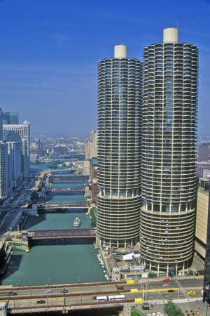 photographies: Marina Towers Apartments, Chicago, Illinois