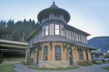 wallace: Northern Pacific Depot Railroad Museum, Wallace RR Station, Idaho