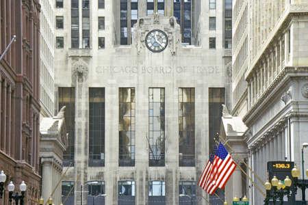 The Chicago Board of Trade, Chicago, Illinois