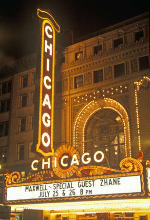 Chicago Theater, Chicago, Illinois