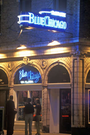 Blue Chicago Music Bar, Chicago, Illinois