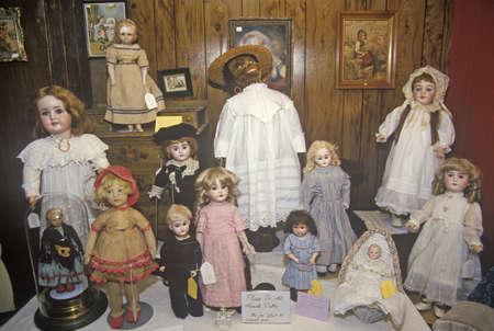 antique: Antique Dolls, Cape Cod, Massachusetts Editorial