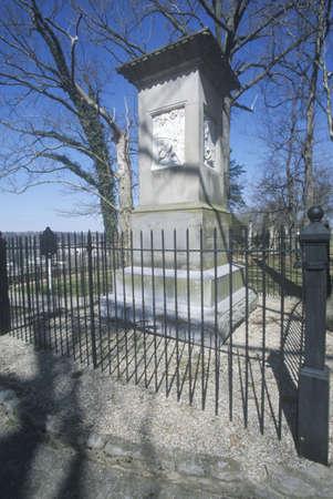 grave site: Grave site of Daniel Boone, Frankfort, KY