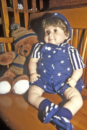 Antique Boy Doll, Cape Cod, Massachusetts