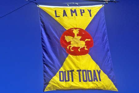 harvard university: National Lampoon Flag, Harvard University, Cambridge, Massachusetts
