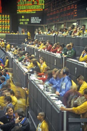 mercantile: Trading Floor of the Chicago Mercantile Exchange, Chicago, Illinois