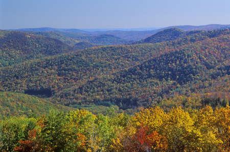 Berkshire Mountains in Autumn, Deerfield, Massachusetts Stock Photo - 20515405