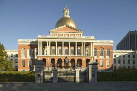 capitol building: The Old State House for the Commonwealth of Massachusetts, State Capitol Building, Boston, Mass.
