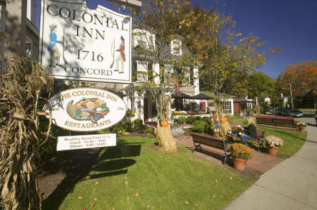 middlesex: Colonial Inn 1716, Concord, Massachusetts, New England Editorial