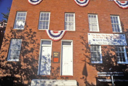 orioles: Babe Ruths Birthplace and the Baltimore Orioles Museum, Baltimore, Maryland