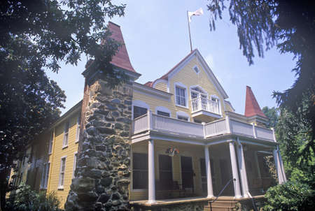 echo: Clara Barton House, Glen Echo, Maryland