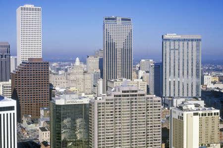 the deep south: New Orleans Skyline, Louisiana Editorial