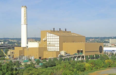 incinerator: Trash Incinerator, Baltimore, Maryland Editorial