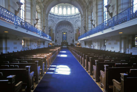 pews: United States Naval Academy Chapel, Annapolis, Maryland