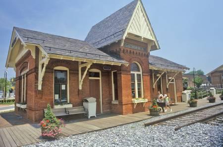 gaithersburg: Old Train Station, Gaithersburg, Maryland
