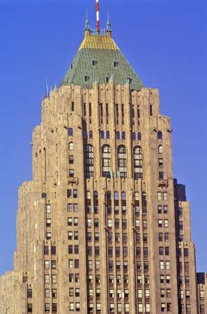 General Motors Headquarters in downtown Detroit, MI Redakční