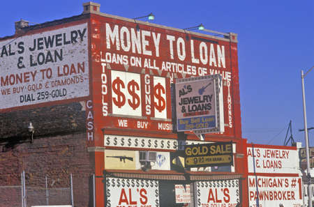 advertise with us: Loan Shark building in Detroit, MI