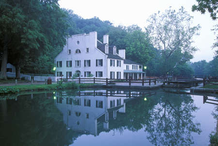 C & O Canal, Great Falls, Maryland Editorial