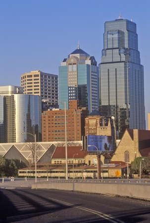 Kansas City skyline, MO