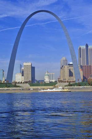 mimo: Arco de St. Louis del r�o Mississippi, St. Louis, MO