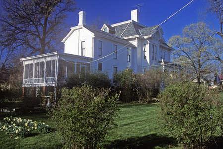 president???s: Casa del presidente Harry S. Truman, Independence, MO Editoriali