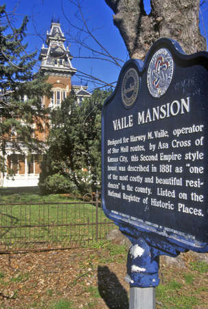 Vaile Mansion, on National Registrar of Historic Places, MO
