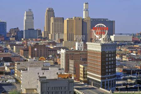 mimo: Kansas City horizonte de Crown Center, MO