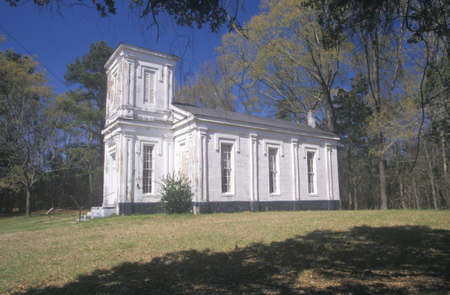 ms: Historic 1826 Bethel Presbyterian Church in deep South of MS